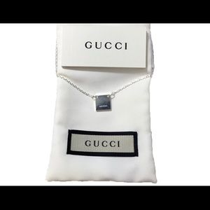 """Gucci Sterling Silver 18"""" necklace"""